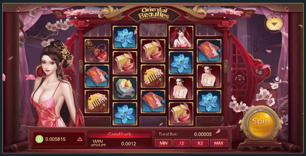 Oriental beauties bcgame slot game