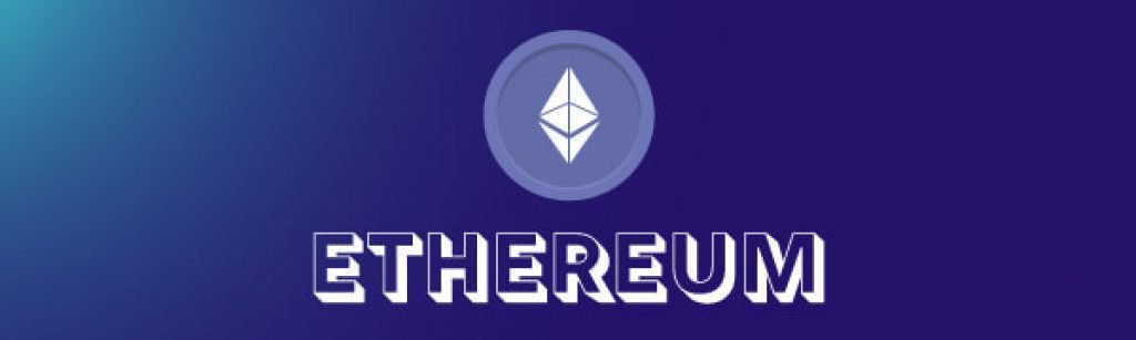Ethereum text and logo