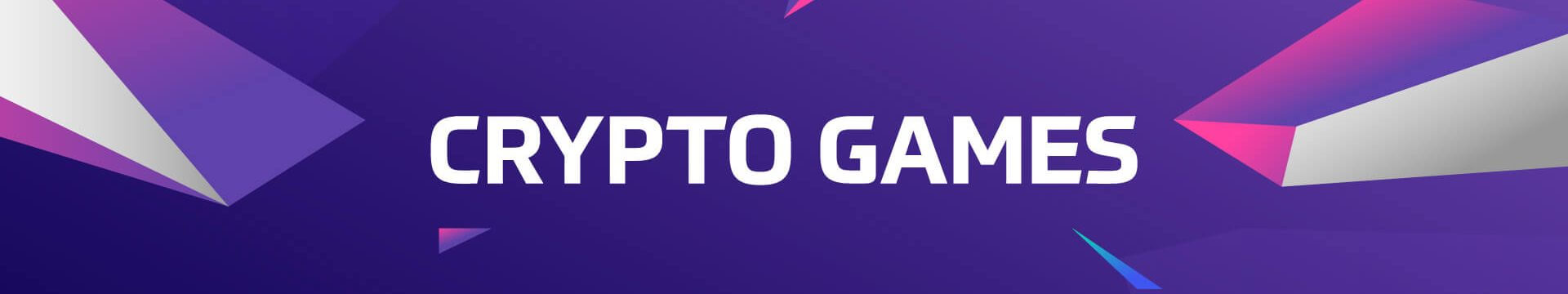 crypto games banner