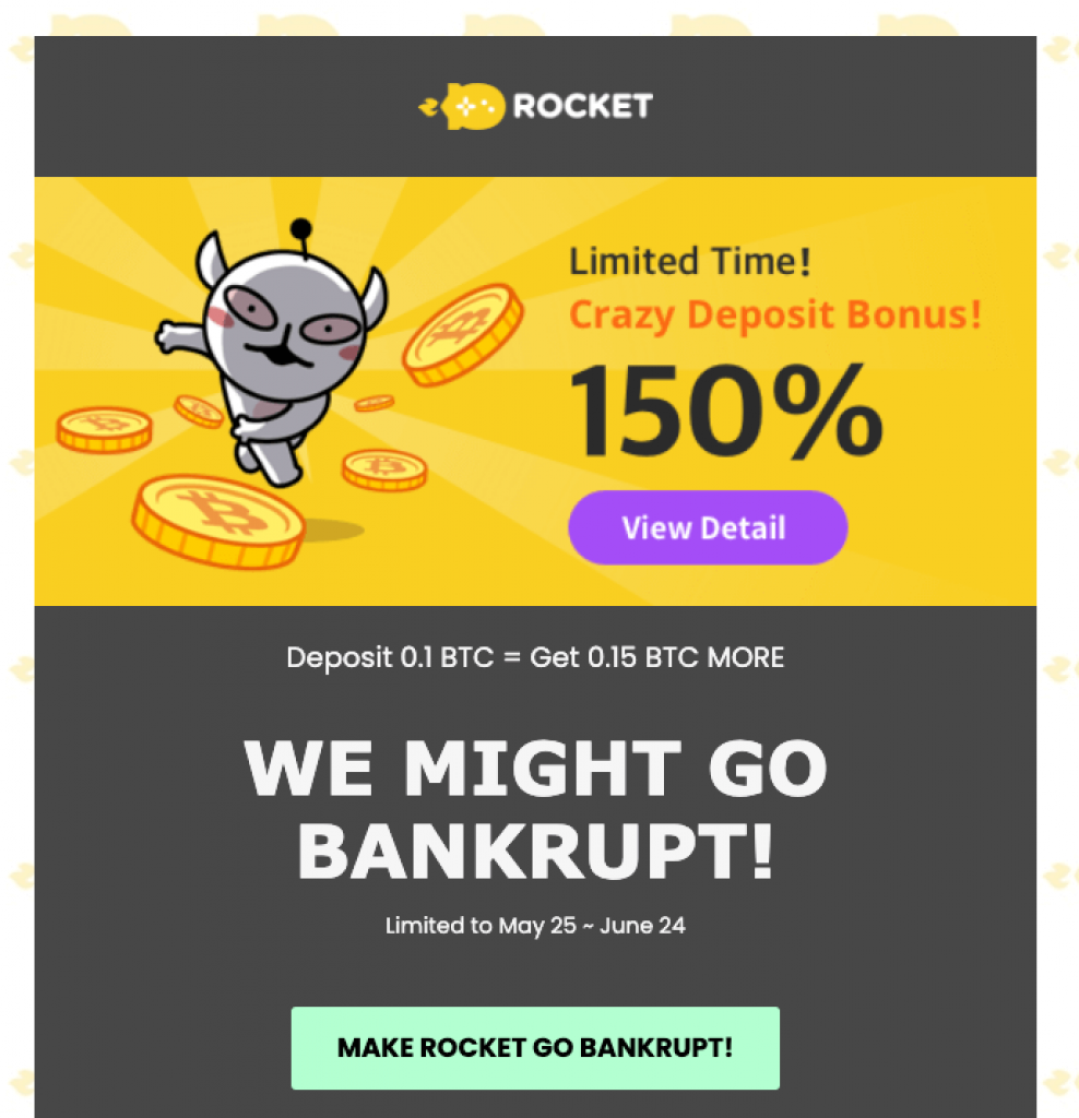 rocket run casino deposit bonus
