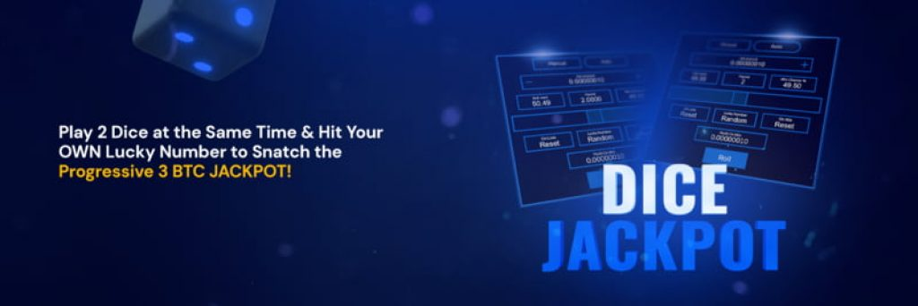 Blue Dice game by FortuneJack Casino with Jackpot