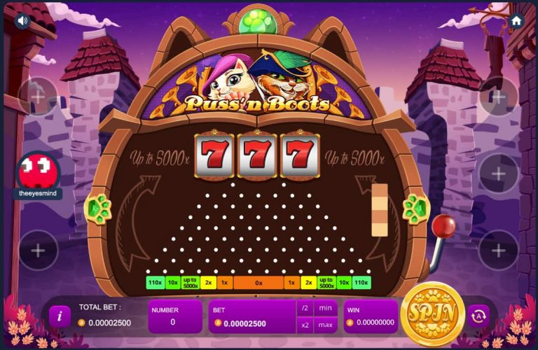 Plachinko at luckyfish casino