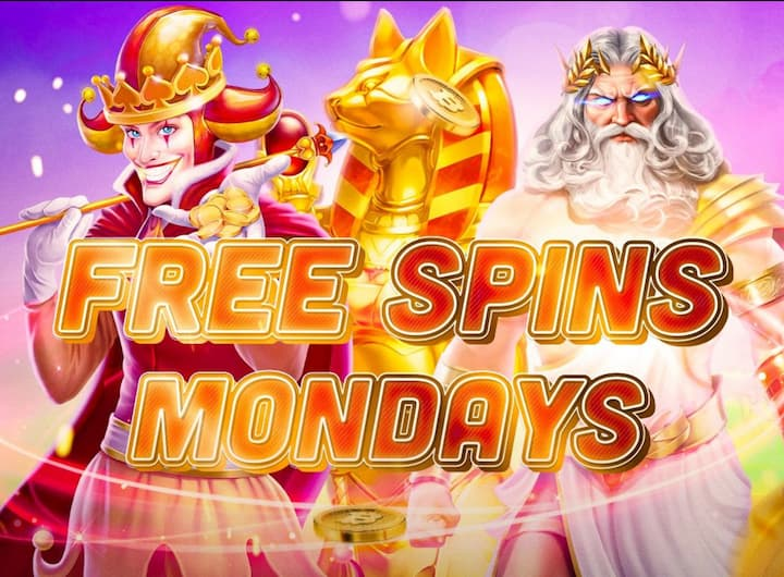 banner free spins monday