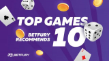 Top 10 games offered by BetFury